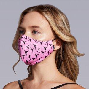 Face Mask Tänzerin Damengröße
