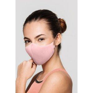 Soft Stretch Mask blass hellrosa Erwachsene