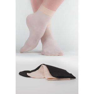 Ballettsöckchen schwarz