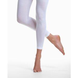 Strumpfhose ohne Fuß white S/SS