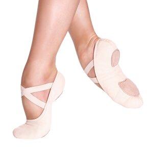 Ballettschuhe elastisch hellpink 9c / 25